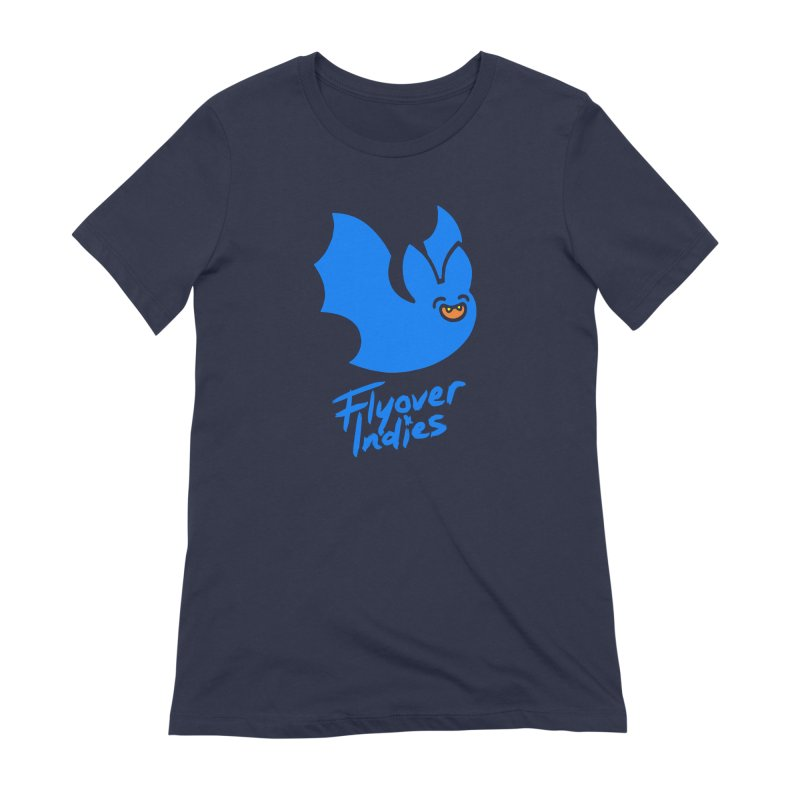 Batigan Flitz <3 Flyover Indies Tee and Hoody Women's Extra Soft T-Shirt by Flyover Indies Shop