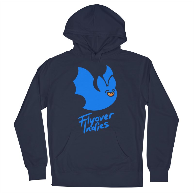 Batigan Flitz <3 Flyover Indies Tee and Hoody Women's French Terry Pullover Hoody by Flyover Indies Shop