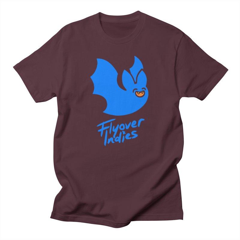 Batigan Flitz <3 Flyover Indies Tee and Hoody Men's Regular T-Shirt by Flyover Indies Shop