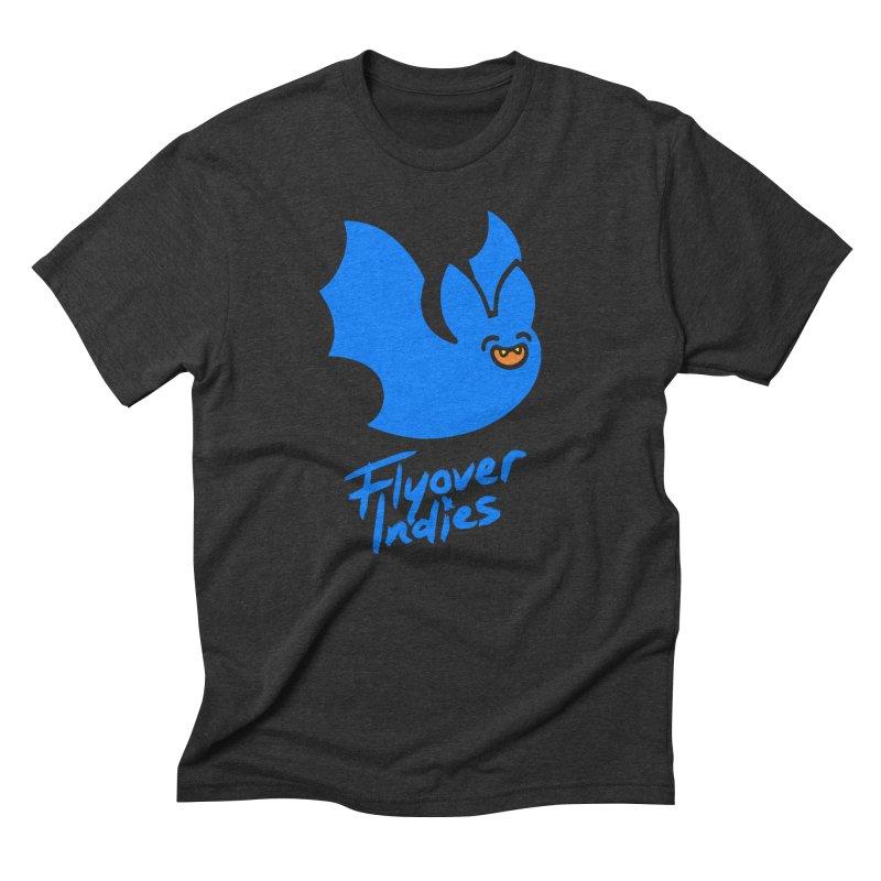 Batigan Flitz <3 Flyover Indies Tee and Hoody Men's Triblend T-Shirt by Flyover Indies Shop