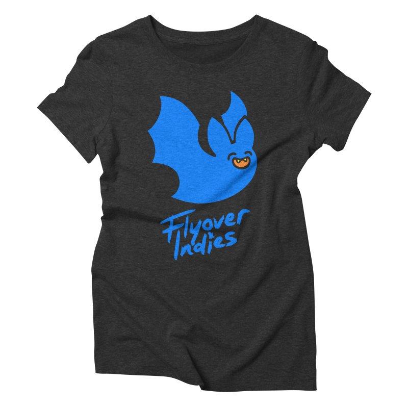 Batigan Flitz <3 Flyover Indies Tee and Hoody Women's Triblend T-Shirt by Flyover Indies Shop