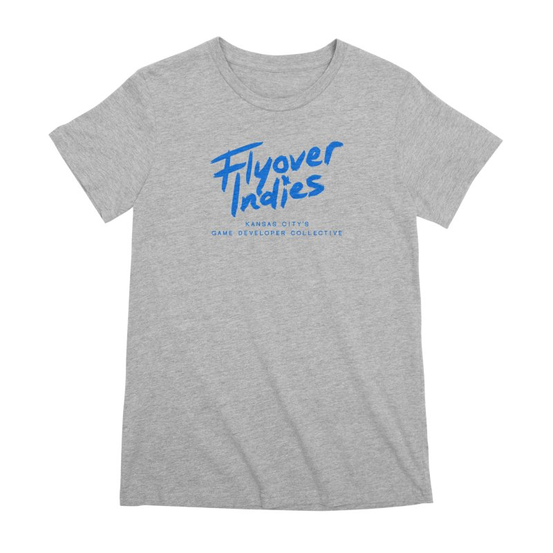 Flyover Indies Logo Tee and Hoody Women's Premium T-Shirt by Flyover Indies Shop