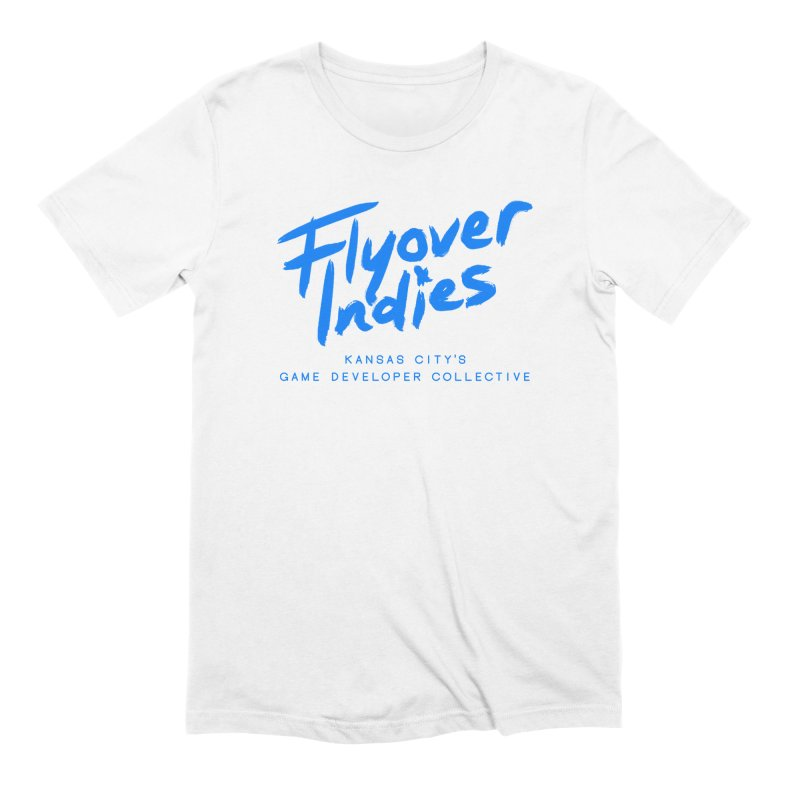 Flyover Indies Logo Tee and Hoody Men's Extra Soft T-Shirt by Flyover Indies Shop