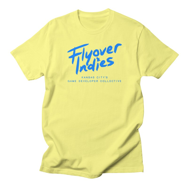 Flyover Indies Logo Tee and Hoody Men's T-Shirt by Flyover Indies Shop