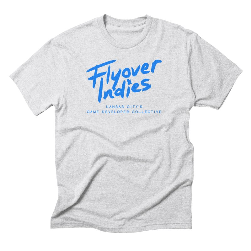 Flyover Indies Logo Tee and Hoody Men's Triblend T-Shirt by Flyover Indies Shop