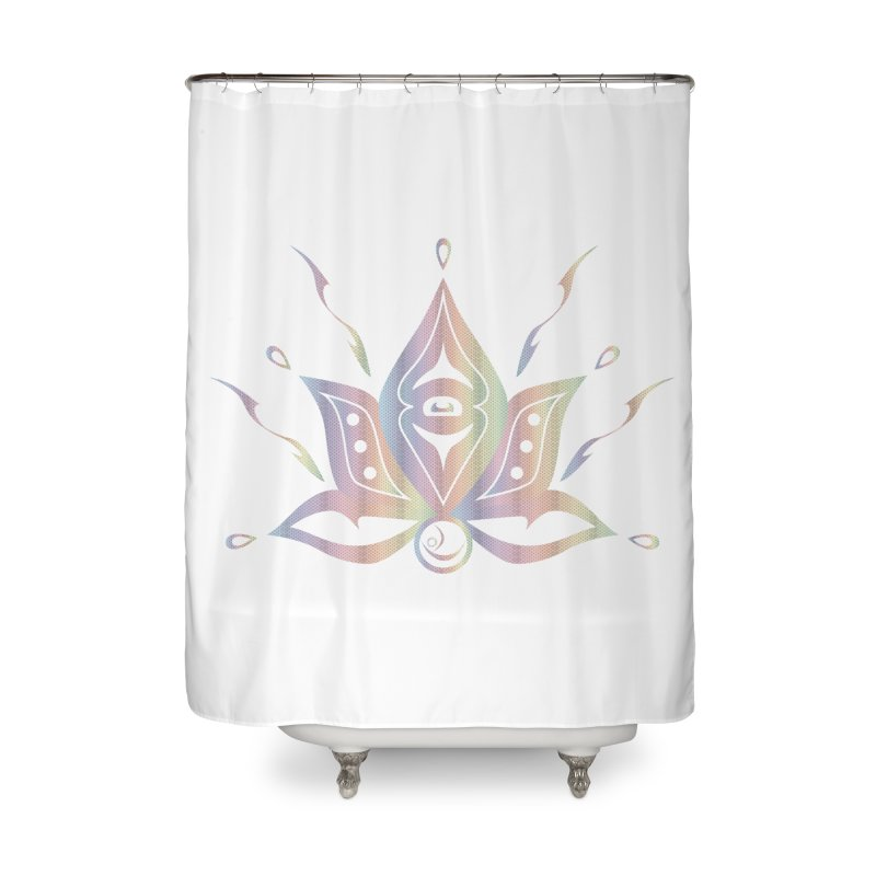Radiate in Shower Curtain by Infinity Art Graphics