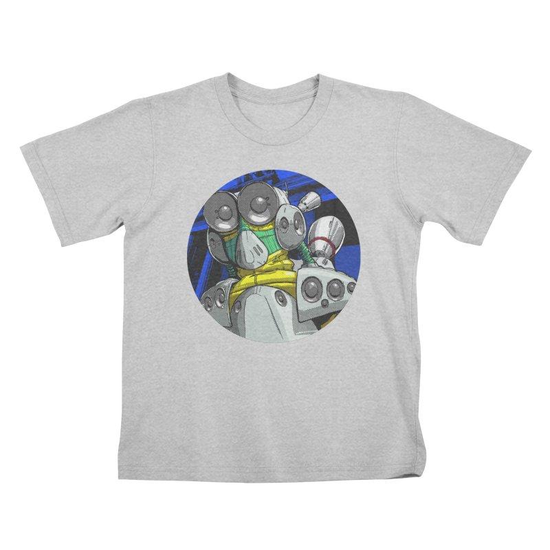 Roland Bassline Resonant Frequencies Kids T-Shirt by FMR Threads