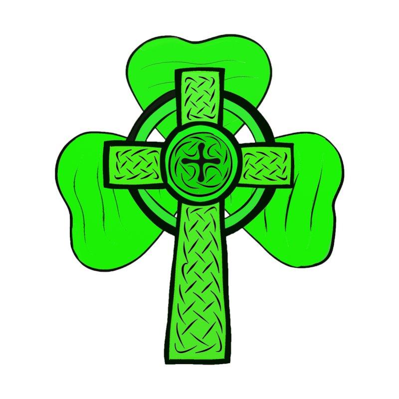 4141197c6 Irish, St. Patrick's day, shamrock, celtic cross shirt Kids T-Shirt