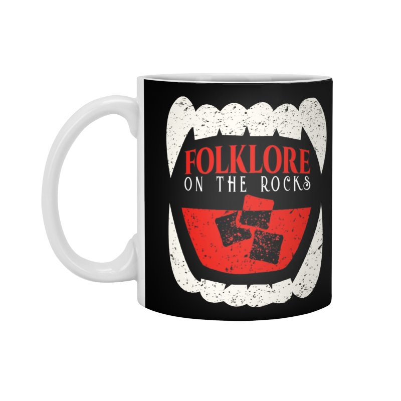 Folklore on the Rocks Classic Logo Accessories Mug by Folklore on the Rocks Podcast MERCH!