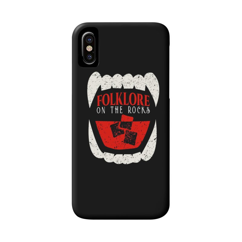 Folklore on the Rocks Classic Logo Accessories Phone Case by Folklore on the Rocks Podcast MERCH!