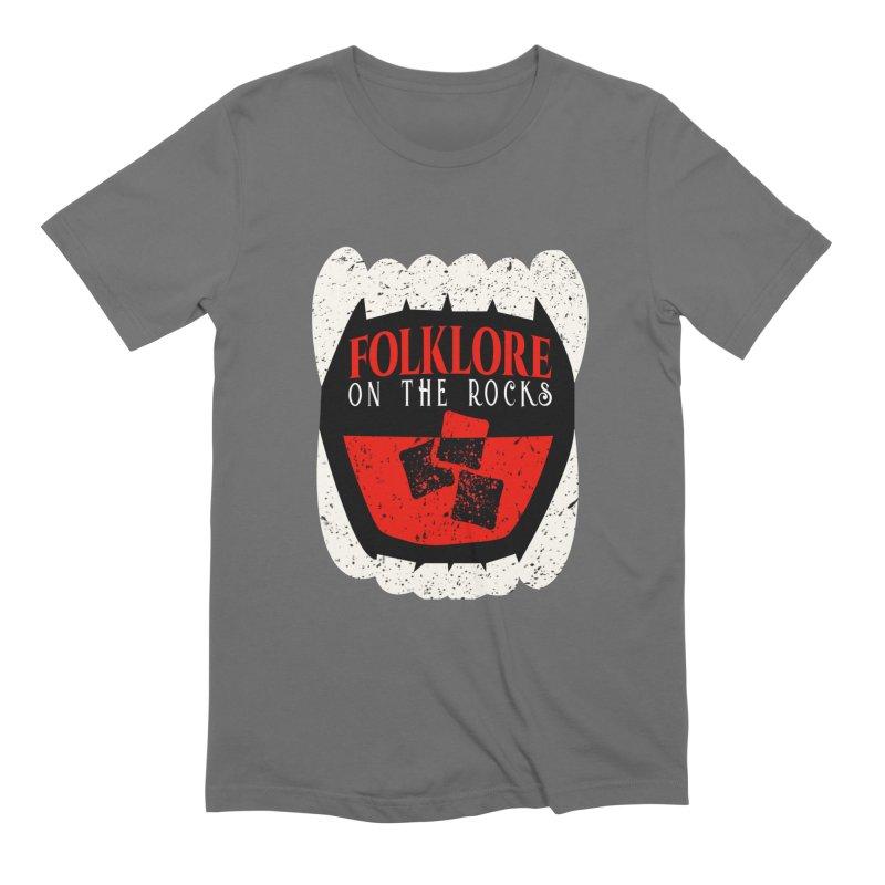 Folklore on the Rocks Classic Logo Men's T-Shirt by Folklore on the Rocks Podcast MERCH!