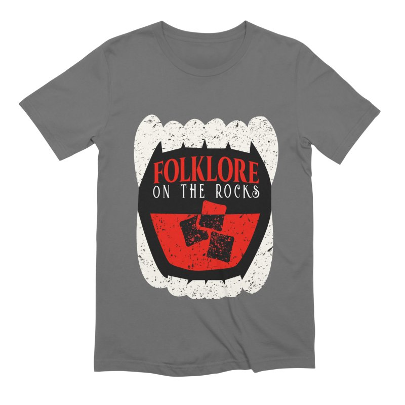 Folklore on the Rocks Classic Logo Men's T-Shirt by Folklore on the Rocks Podcast MERCH!