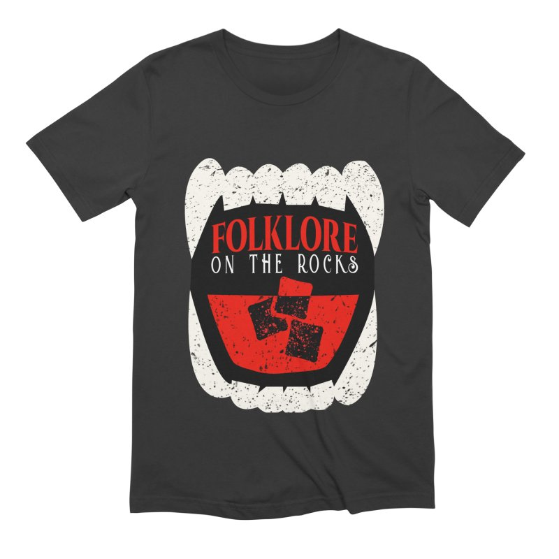 Folklore on the Rocks Classic Logo Men's Extra Soft T-Shirt by Folklore on the Rocks Podcast MERCH!