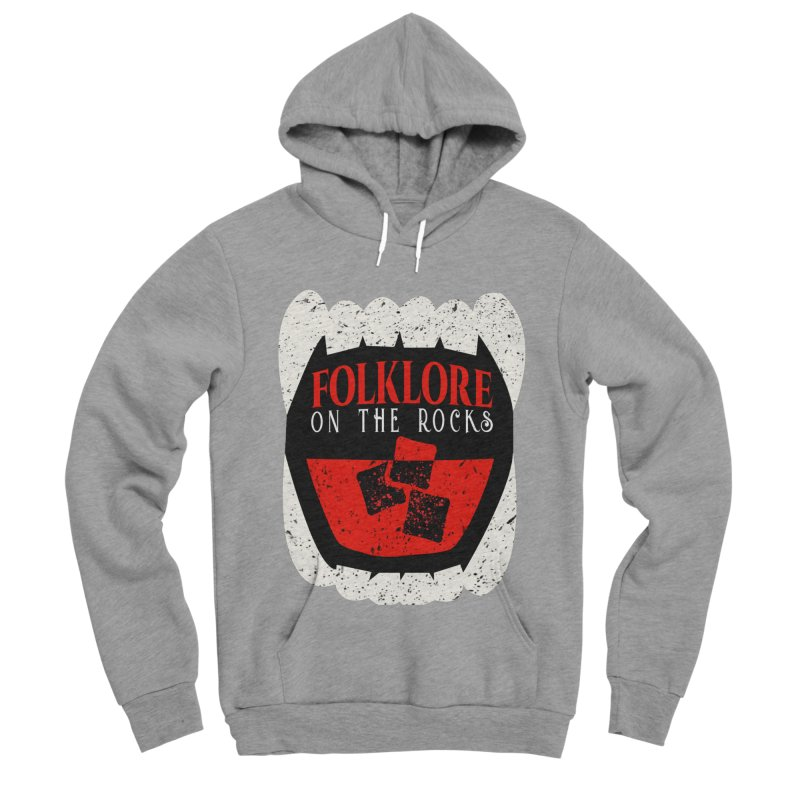 Folklore on the Rocks Classic Logo Women's Sponge Fleece Pullover Hoody by Folklore on the Rocks Podcast MERCH!