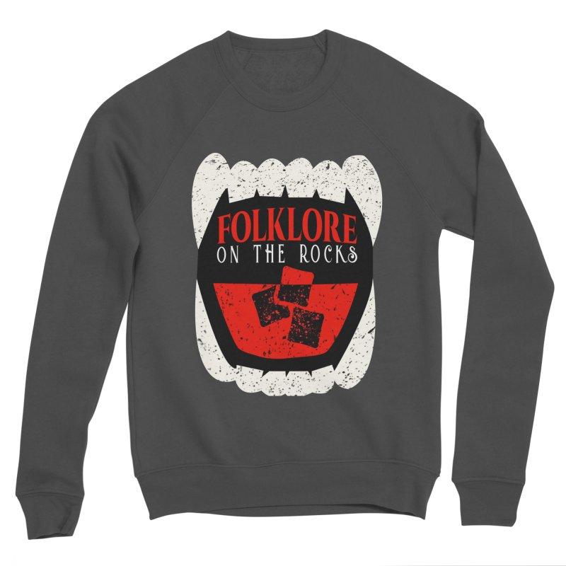 Folklore on the Rocks Classic Logo Men's Sponge Fleece Sweatshirt by Folklore on the Rocks Podcast MERCH!