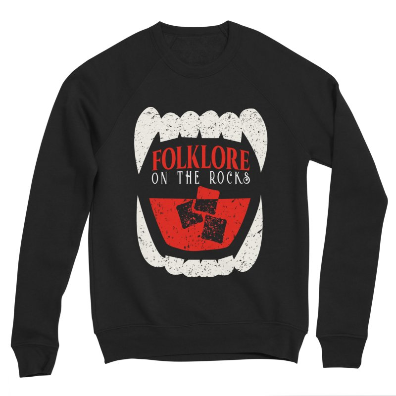Folklore on the Rocks Classic Logo Women's Sponge Fleece Sweatshirt by Folklore on the Rocks Podcast MERCH!