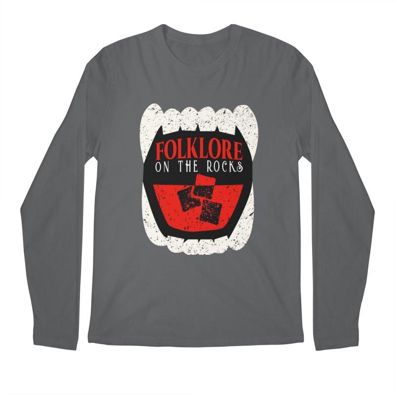 Folklore on the Rocks Classic Logo Men's Longsleeve T-Shirt by Folklore on the Rocks Podcast MERCH!