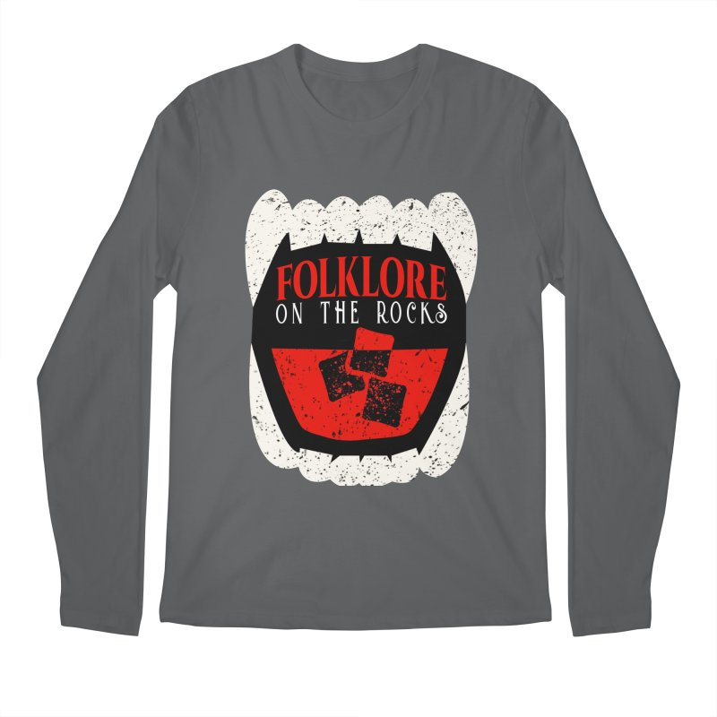 Folklore on the Rocks Classic Logo Men's Regular Longsleeve T-Shirt by Folklore on the Rocks Podcast MERCH!