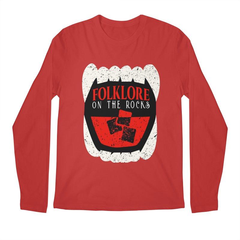 Folklore on the Rocks Classic Logo Men's Regular Longsleeve T-Shirt by Folklore on the Rocks Podcast MERCH!