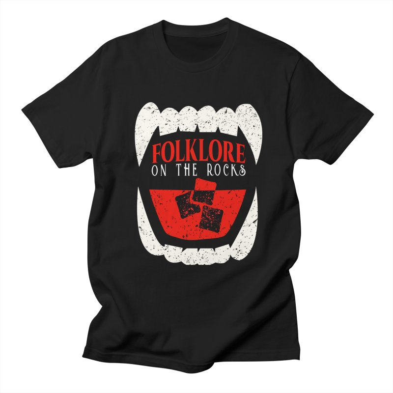 Folklore on the Rocks Classic Logo Men's Regular T-Shirt by Folklore on the Rocks Podcast MERCH!
