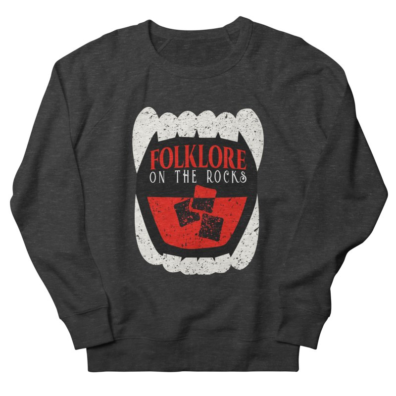 Folklore on the Rocks Classic Logo Women's French Terry Sweatshirt by Folklore on the Rocks Podcast MERCH!