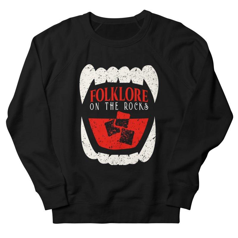 Folklore on the Rocks Classic Logo Men's French Terry Sweatshirt by Folklore on the Rocks Podcast MERCH!
