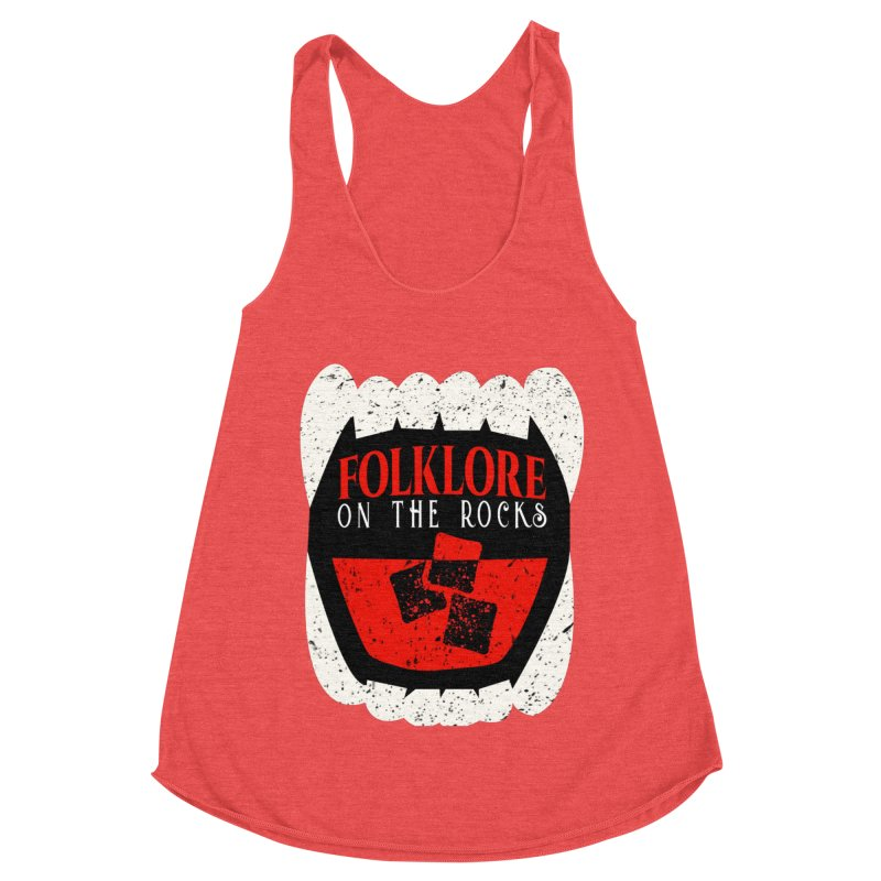 Folklore on the Rocks Classic Logo Women's Tank by Folklore on the Rocks Podcast MERCH!