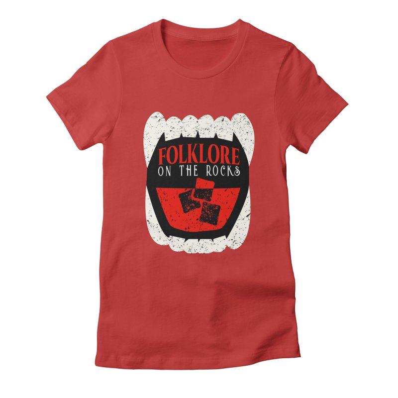 Folklore on the Rocks Classic Logo Women's T-Shirt by Folklore on the Rocks Podcast MERCH!