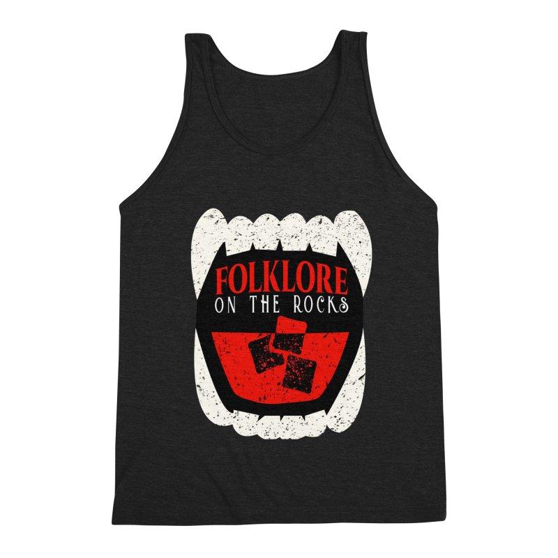 Folklore on the Rocks Classic Logo Men's Triblend Tank by Folklore on the Rocks Podcast MERCH!