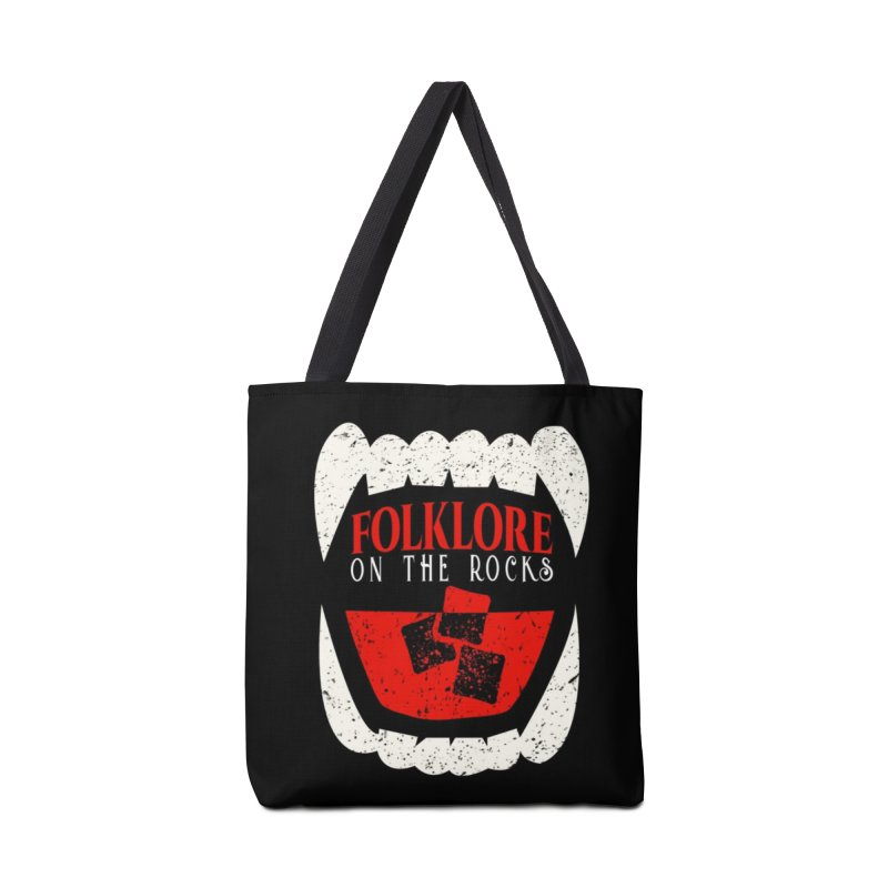 Folklore on the Rocks Classic Logo Accessories Tote Bag Bag by Folklore on the Rocks Podcast MERCH!