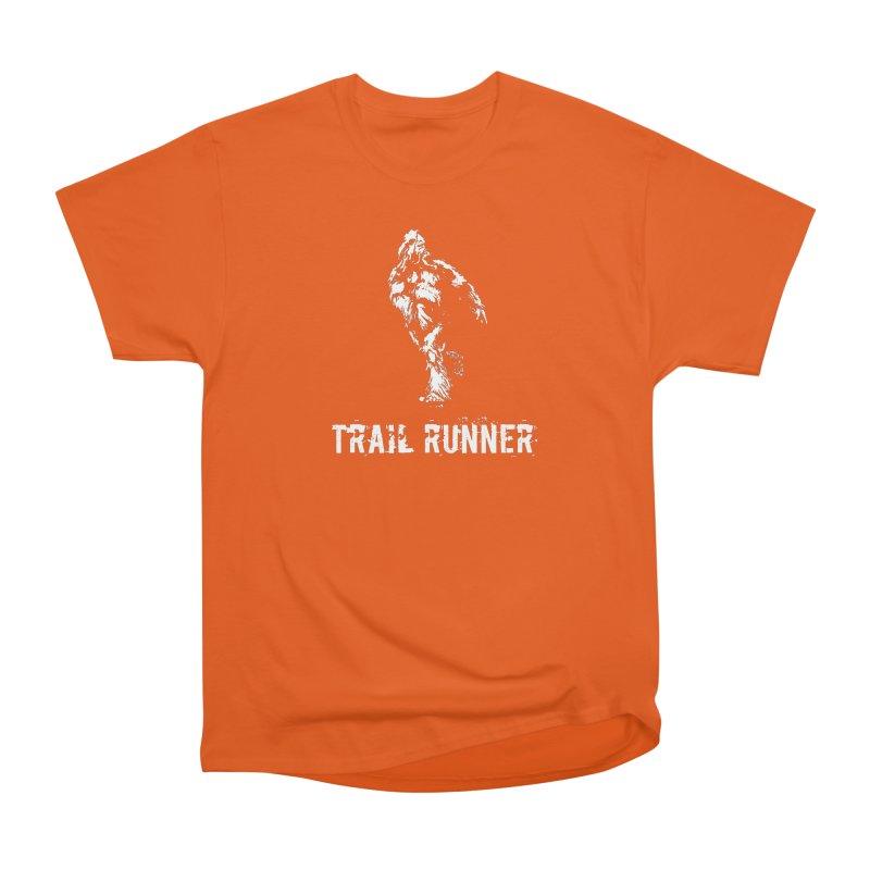 b80aa557f5b0 Bigfoot is a trail runner. Men s Heavyweight T-Shirt by Folkrunner s Artist  Shop