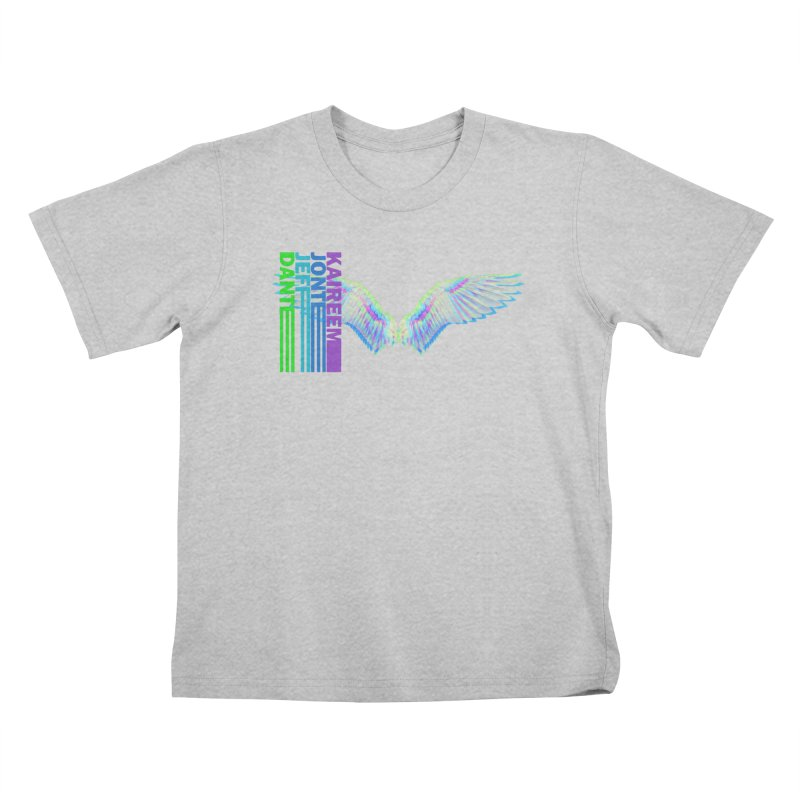 5th Annual Jeff McQueen Scholarship Fundraiser Kids T-Shirt by Incredibly Average Online Store