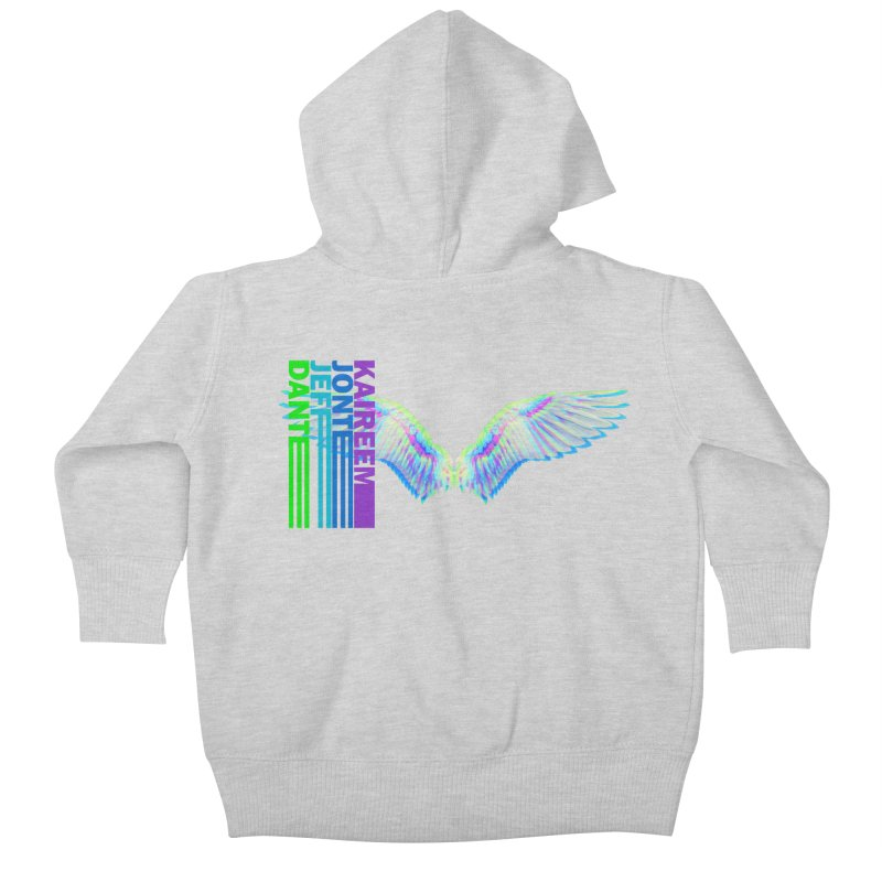 5th Annual Jeff McQueen Scholarship Fundraiser Kids Baby Zip-Up Hoody by Incredibly Average Online Store