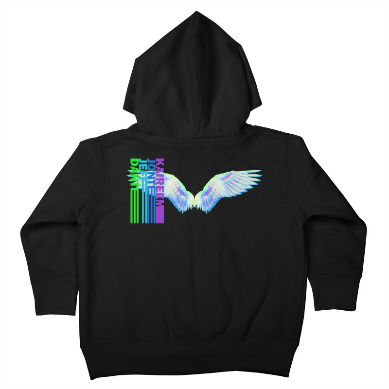 5th Annual Jeff McQueen Scholarship Fundraiser Kids Toddler Zip-Up Hoody by Incredibly Average Online Store
