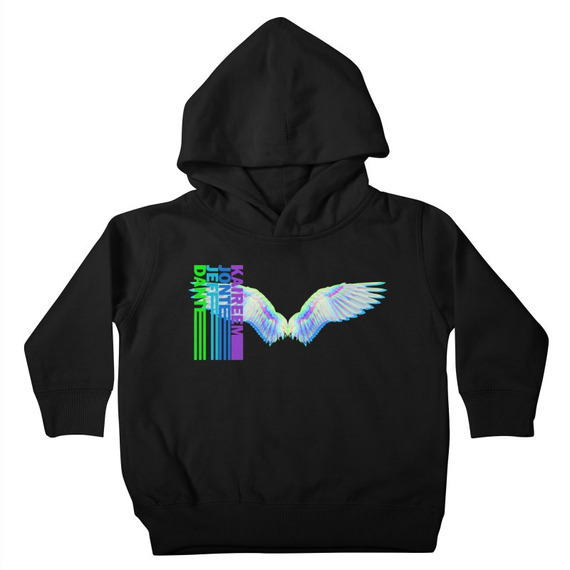 5th Annual Jeff McQueen Scholarship Fundraiser Kids Toddler Pullover Hoody by Incredibly Average Online Store