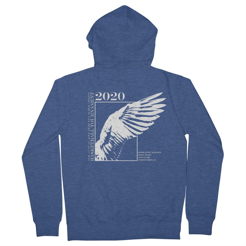 5th Annual Basketball Tournament Men's Zip-Up Hoody by Incredibly Average Online Store