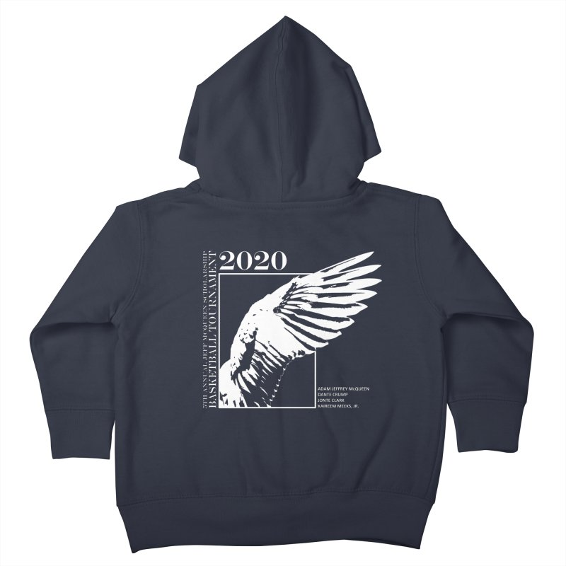 5th Annual Basketball Tournament Kids Toddler Zip-Up Hoody by Incredibly Average Online Store