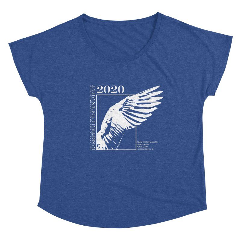 5th Annual Basketball Tournament Women's Scoop Neck by Incredibly Average Online Store