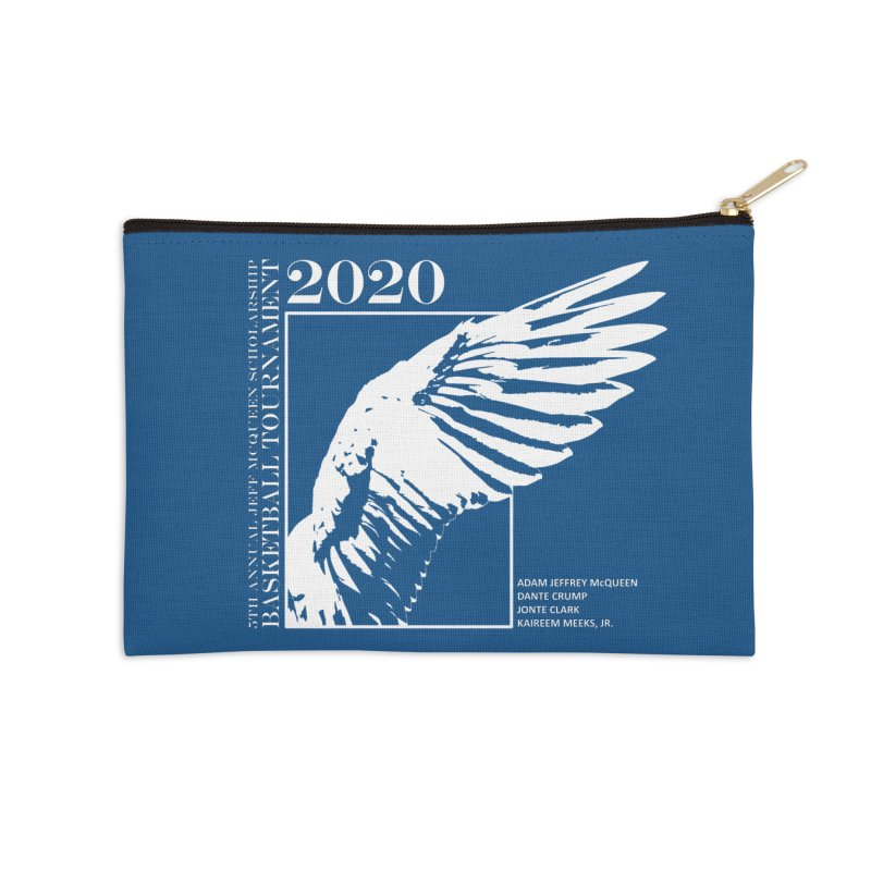 5th Annual Basketball Tournament Accessories Zip Pouch by Incredibly Average Online Store