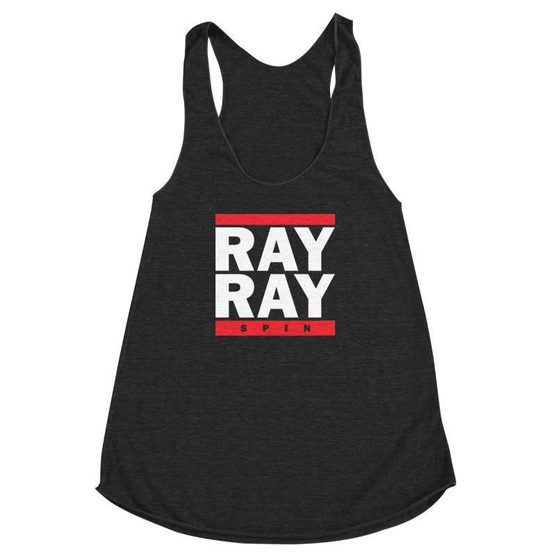 rayrray Women's Racerback Triblend Tank by foodfight's Artist Shop
