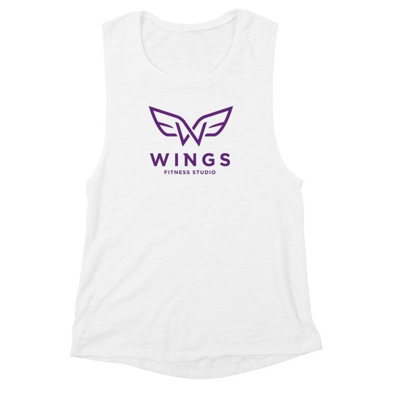 Wings Women's Muscle Tank by foodfight's Artist Shop