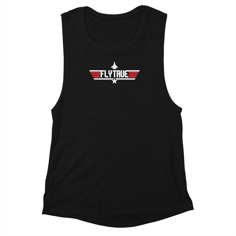 flytrue Women's Muscle Tank by foodfight's Artist Shop