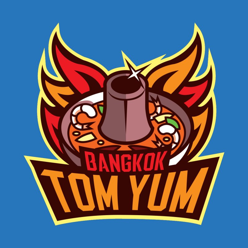 Bangkok Tom Yum None  by foodfight's Artist Shop