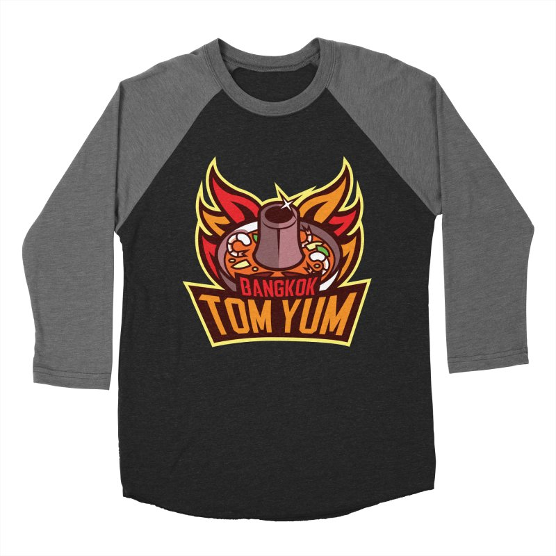 Bangkok Tom Yum Women's Baseball Triblend T-Shirt by foodfight's Artist Shop