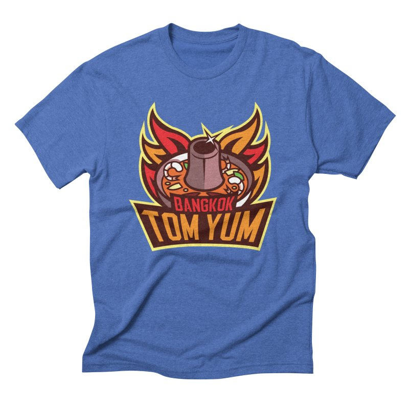 Bangkok Tom Yum Men's Triblend T-shirt by foodfight's Artist Shop