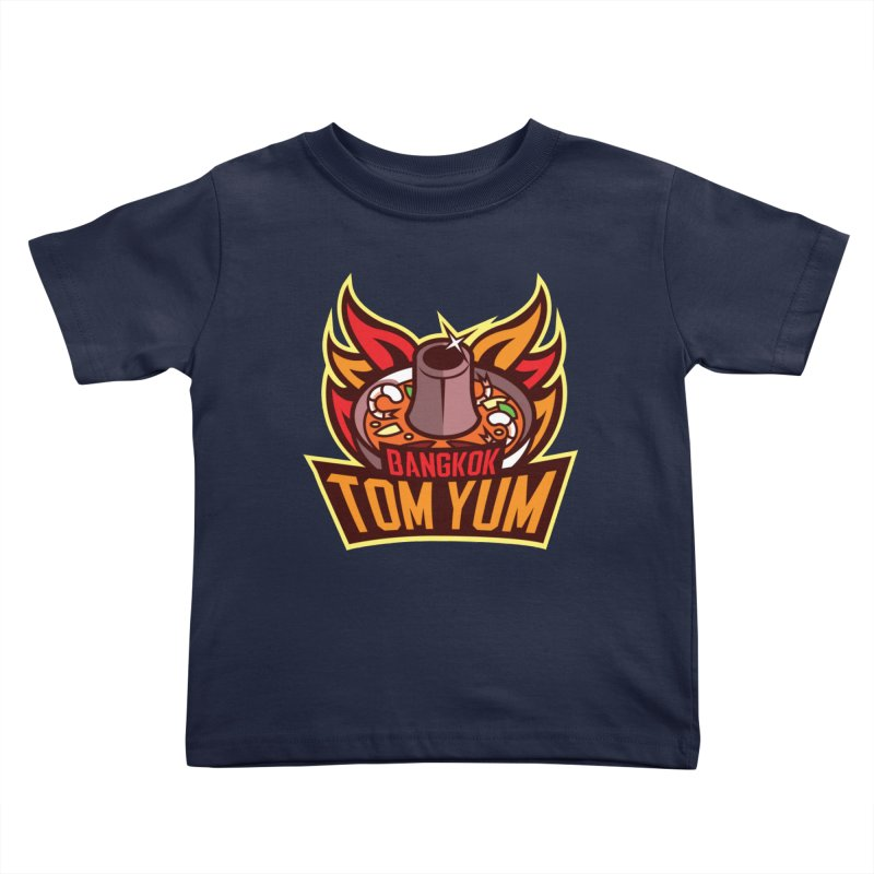 Bangkok Tom Yum Kids Toddler T-Shirt by foodfight's Artist Shop