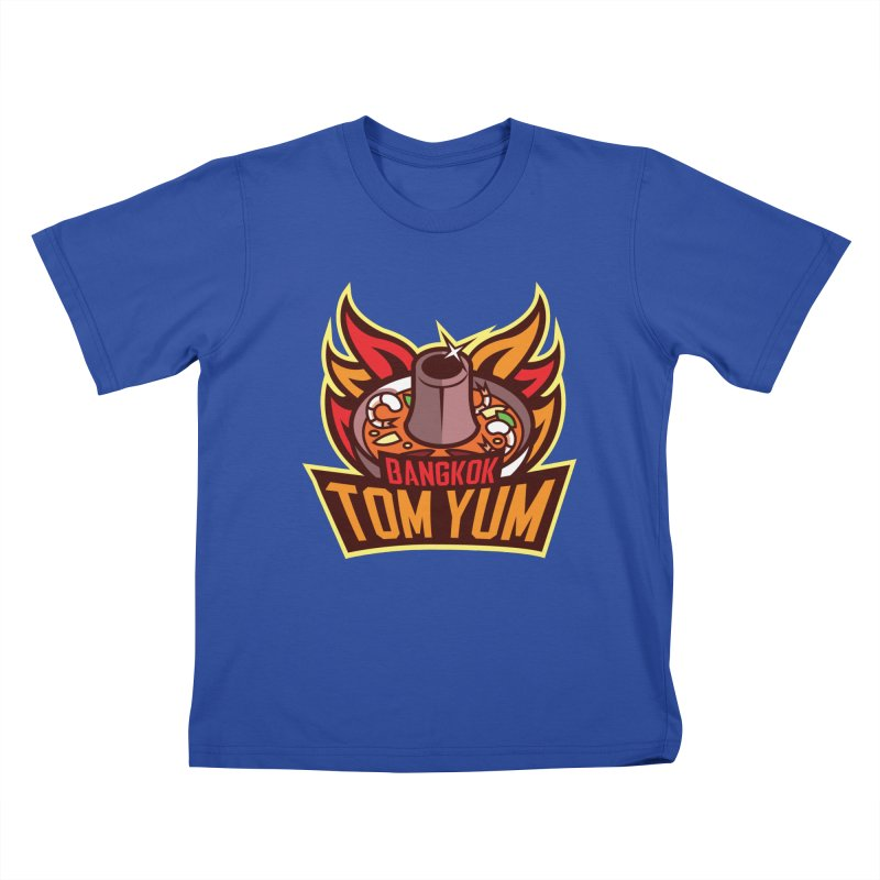 Bangkok Tom Yum Kids T-Shirt by foodfight's Artist Shop