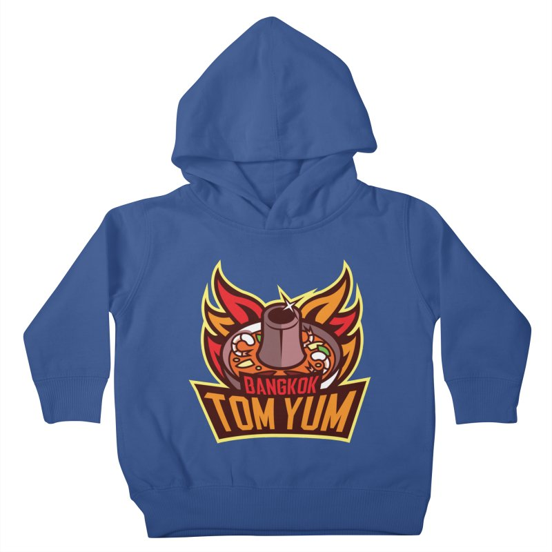 Bangkok Tom Yum Kids Toddler Pullover Hoody by foodfight's Artist Shop