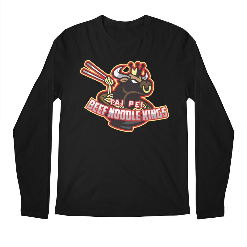 TAI PEI NOODLE KINGS Men's Longsleeve T-Shirt by foodfight's Artist Shop