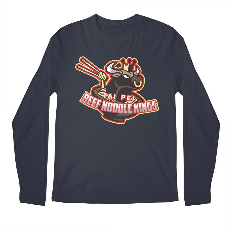 TAI PEI NOODLE KINGS Men's Longsleeve T-Shirt by foodfight's Artist Shop